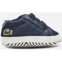 Lacoste Babies' L.12.12 Crib 318 1 Trainers - Navy/White - UK 2 Baby - Blue