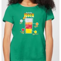 Infographic Sex On The Beach Women's T-Shirt - Kelly Green - XL - Kelly Green - Beach Gifts
