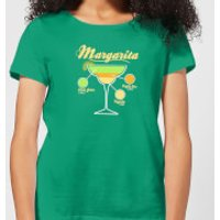 Infographic Margarita Women's T-Shirt - Kelly Green - M - Kelly Green