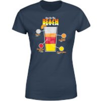 Infographic Sex On The Beach Women's T-Shirt - Navy - S - Navy - Beach Gifts