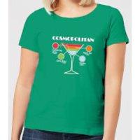 Infographic Cosmopolitan Women's T-Shirt - Kelly Green - XL - Kelly Green