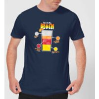 Infographic Sex On The Beach Men's T-Shirt - Navy - L - Navy - Beach Gifts