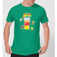 Infographic Sex On The Beach Men's T-Shirt - Kelly Green - L - Kelly Green - Beach Gifts