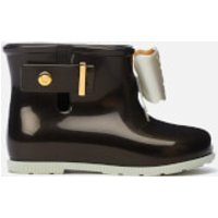 Mini Melissa Toddlers' Sugar Rain Fairy Boots - Moonlight - UK 6 Toddler - Black
