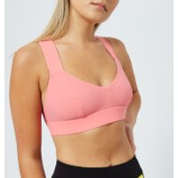 NO KA'OI Women's Ola Bra - Flaming/Moon - M - Pink