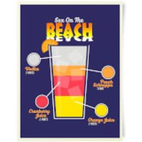 Sex On The Beach Art Print - Sex Gifts