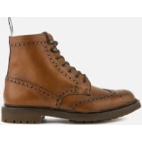 Church's Men's Mc Farlane 2 Grained Leather Lace Up Boots - Walnut - UK 11 - Tan/Brown