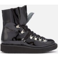 KENZO Women's Alaska Patent Leather Boots - UK 3/EU 36 - Black