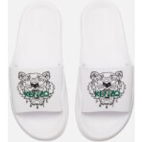 KENZO Women's Pool Slide Sandals - White - UK 7/EU 40 - White