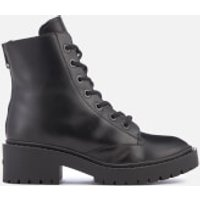 KENZO Women's Pike Fur Lined Lace Up Boots - Black - UK 4/EU 37 - Black