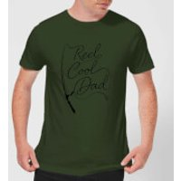 Reel Cool Dad Men's T-Shirt - Forest Green - XL - Forest Green