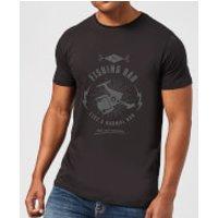 Fishing Dad Men's T-Shirt - Black - L - Black - Fishing Gifts