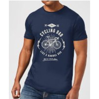 Cycling Dad Men's T-Shirt - Navy - XL - Navy
