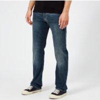 Emporio Armani Men's 5 Pocket Slim Denim Jeans - Blue - W38/L34