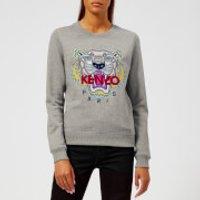 KENZO Women's Classic Tiger Molleton Sweatshirt - Grey - XS - Grey