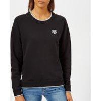 KENZO Women's Light Cotton Molleton Sweatshirt - Black - L - Black