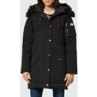 KENZO Women's Technical Long Coat - Black - M - Black