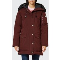 KENZO Women's Technical Long Coat - Plum - XS - Purple