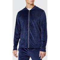 Polo Ralph Lauren Men's Velour Zip Hoody - Cruise Navy Label - XXL - Navy