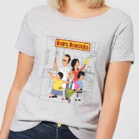 Bobs Burgers Family Business Women's T-Shirt - Grey - 5XL - Grey - Business Gifts