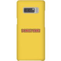 Nintendo Donkey Kong Distressed Smartphone Hülle - Samsung Note 8 - Snap Hülle Matt