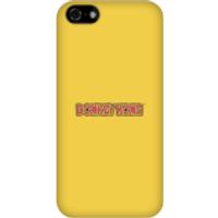 Nintendo Donkey Kong Distressed Phone Case - iPhone 5C - Snap Case - Gloss - Donkey Gifts