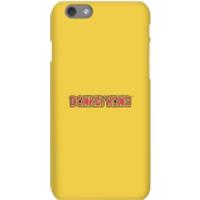 Funda móvil Nintendo Donkey Kong Logo para iPhone y Android - iPhone 6S - Carcasa rígida - Brillante