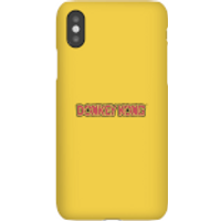 Nintendo Donkey Kong Distressed Phone Case - iPhone X - Snap Case - Gloss - Donkey Gifts