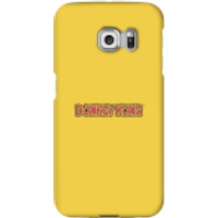 Funda móvil Nintendo Donkey Kong Logo para iPhone y Android - Samsung S6 Edge - Carcasa rígida - Brillante