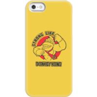 Nintendo Donkey Kong Strong Like Donkey Kong Phone Case - iPhone 5/5s - Snap Case - Matte - Donkey Gifts