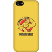 Nintendo Donkey Kong Strong Like Donkey Kong Phone Case - iPhone 5C - Snap Case - Matte - Donkey Gifts