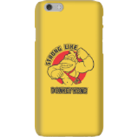 Nintendo Donkey Kong Strong Like Donkey Kong Phone Case - iPhone 6 - Snap Case - Matte