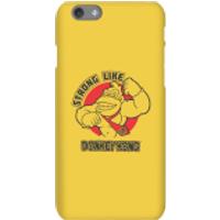 Nintendo Donkey Kong Strong Like Donkey Kong Phone Case - iPhone 6S - Snap Case - Matte - Donkey Gifts