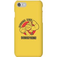 Nintendo Donkey Kong Strong Like Donkey Kong Phone Case - iPhone 7 - Snap Case - Matte - Donkey Gifts