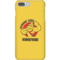 Nintendo Donkey Kong Strong Like Donkey Kong Phone Case - iPhone 7 Plus - Snap Case - Matte - Donkey Gifts