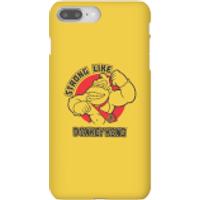Nintendo Donkey Kong Strong Like Donkey Kong Phone Case - iPhone 8 Plus - Snap Case - Matte - Donkey Gifts