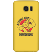 Nintendo Donkey Kong Strong Like Donkey Kong Phone Case - Samsung S6 - Snap Case - Matte - Samsung Gifts