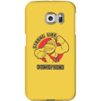 Nintendo Donkey Kong Strong Like Donkey Kong Phone Case - Samsung S6 Edge - Snap Case - Matte - Samsung Gifts