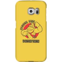Nintendo Donkey Kong Strong Like Donkey Kong Smartphone Hülle - Samsung S6 Edge - Snap Hülle Matt