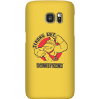 Nintendo Donkey Kong Strong Like Donkey Kong Phone Case - Samsung S7 - Snap Case - Matte - Samsung Gifts