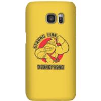 Nintendo Donkey Kong Strong Like Donkey Kong Smartphone Hülle - Samsung S7 - Snap Hülle Matt