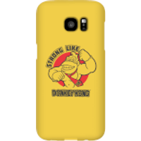 Nintendo Donkey Kong Strong Like Donkey Kong Phone Case - Samsung S7 Edge - Snap Case - Matte - Samsung Gifts