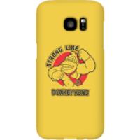 Nintendo Donkey Kong Strong Like Donkey Kong Smartphone Hülle - Samsung S7 Edge - Snap Hülle Matt