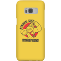 Nintendo Donkey Kong Strong Like Donkey Kong Phone Case - Samsung S8 - Snap Case - Matte - Samsung Gifts