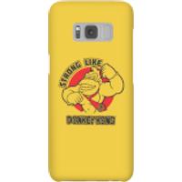 Nintendo Donkey Kong Strong Like Donkey Kong Smartphone Hülle - Samsung S8 - Snap Hülle Matt