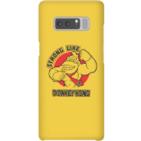 Nintendo Donkey Kong Strong Like Donkey Kong Phone Case - Samsung Note 8 - Snap Case - Matte - Samsung Gifts