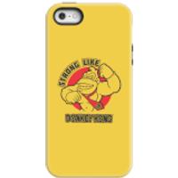 Funda móvil Nintendo Donkey Kong Strong Like Logo para iPhone y Android - iPhone 5/5s - Carcasa doble capa - Mate