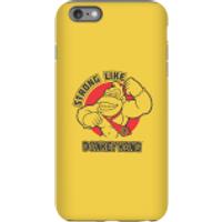 Nintendo Donkey Kong Strong Like Donkey Kong Phone Case - iPhone 6 Plus - Tough Case - Matte