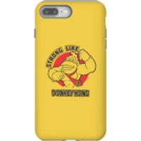 Nintendo Donkey Kong Strong Like Donkey Kong Phone Case - iPhone 8 Plus - Tough Case - Matte