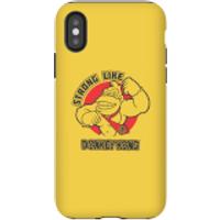 Nintendo Donkey Kong Strong Like Donkey Kong Phone Case - iPhone X - Tough Case - Matte